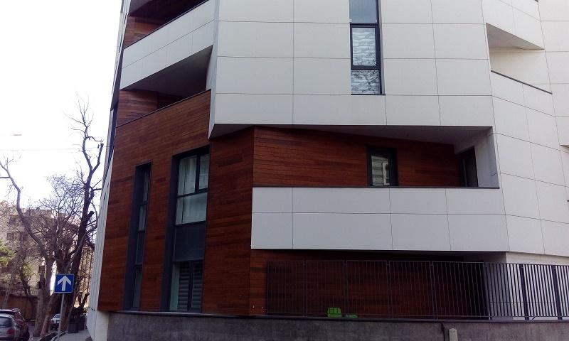 نماشویی ساختمان با سندبلاست