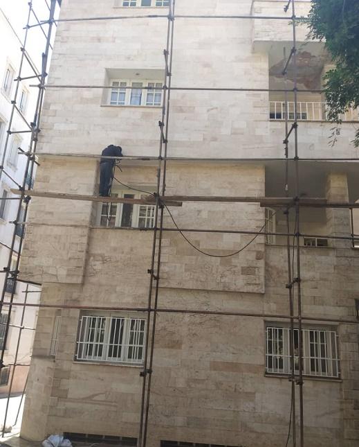اجرای نماشویی ساختمان تهران